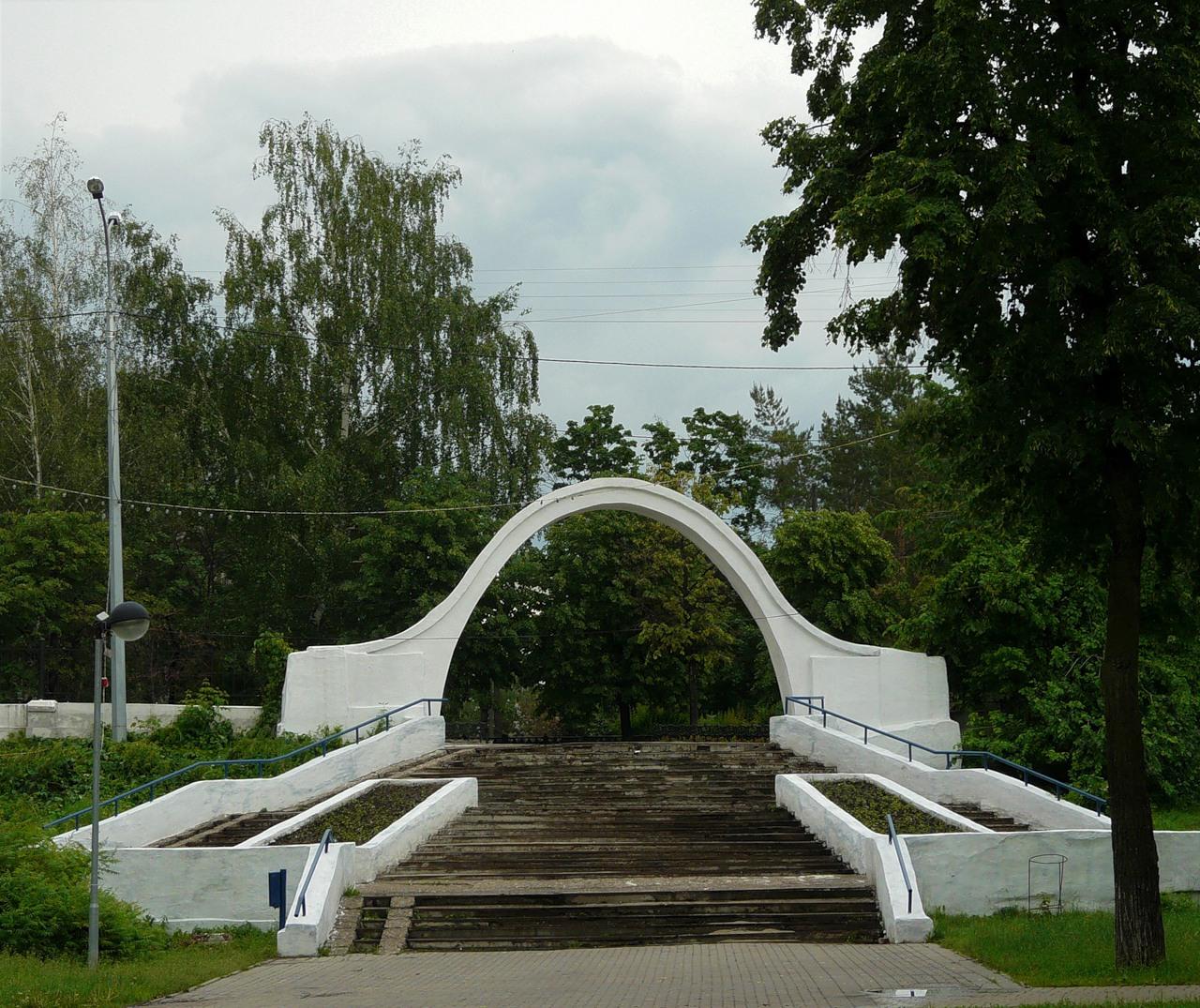 Эконом памятник Арка Уссурийск Лампадка из габбро-диабаза резная Тара